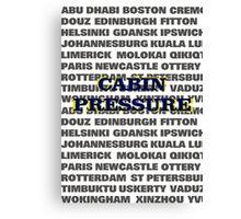 Cabin Pressure Canvas Print