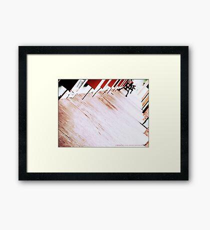 NOWHERE MOTEL Framed Print
