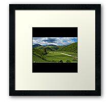 Plai Framed Print