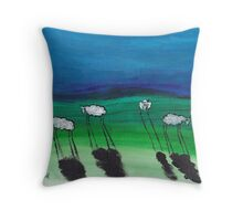 WOOLLY CONVERSATIONS Throw Pillow