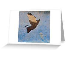 'Vogelfrei'  Greeting Card
