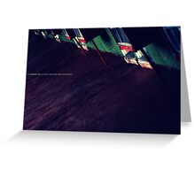 NOWHERE MOTEL II Greeting Card