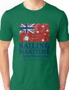 Australia Maritime Flag - Down Under Unisex T-Shirt