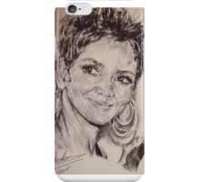 HALLE BERRY PORTRAIT iPhone Case/Skin