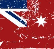 Australia Maritime Flag - Down Under Sticker