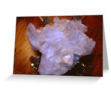 Quartz Crystal Greeting Card