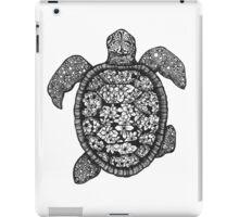 Turtle Zentangle iPad Case/Skin