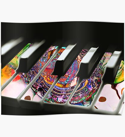 Paint My Piano #5 Poster