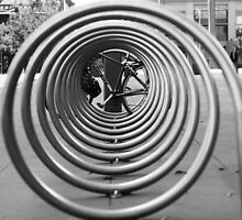 bicycle spiral by Steve Scully