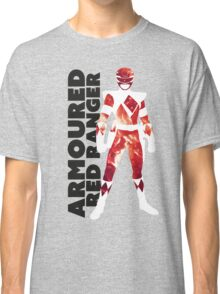 MMPR Armoured Red Print Classic T-Shirt