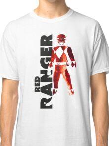 MMPR Red Ranger Print Classic T-Shirt