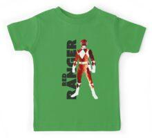 MMPR Red Ranger Print Kids Tee