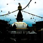Nepal-Stupa by Shreedeep Rayamajhi