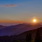 Blue Ridge Sunset by Bill Wetmore