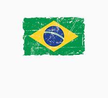 Brazil Flag - Vintage Look Unisex T-Shirt