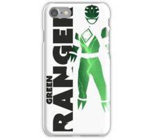 MMPR Green Ranger Print iPhone Case/Skin