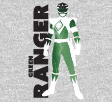MMPR Green Ranger Print One Piece - Short Sleeve