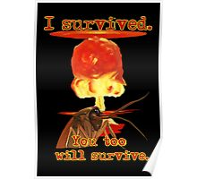 I survived. You too will survive. Poster