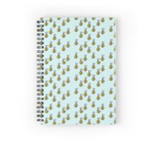 Bumble Bee Pattern Spiral Notebook