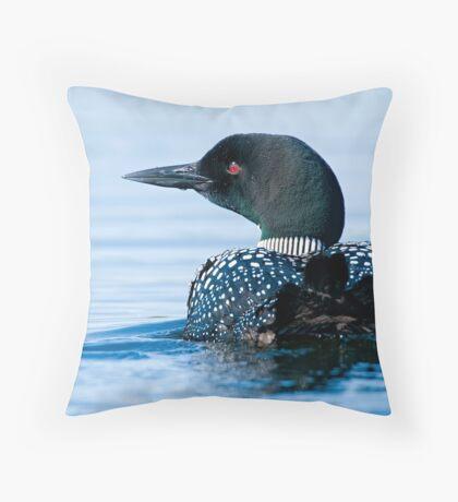 Common Loon - Mississippi Lake, Ontario Throw Pillow