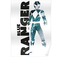 MMPR Blue Ranger Print Poster