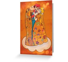 Just Before The Kiss Greeting Card