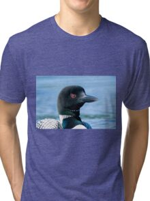 Common Loon - Mississippi Lake, Ontario Tri-blend T-Shirt