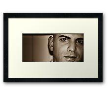 jamal Framed Print