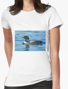 Common Loon - Mississippi Lake, Ontario Womens Fitted T-Shirt