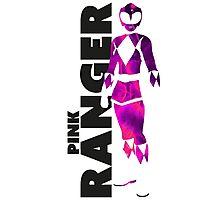 MMPR Pink Ranger Print Photographic Print