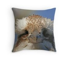 Who You Lookin At? Throw Pillow
