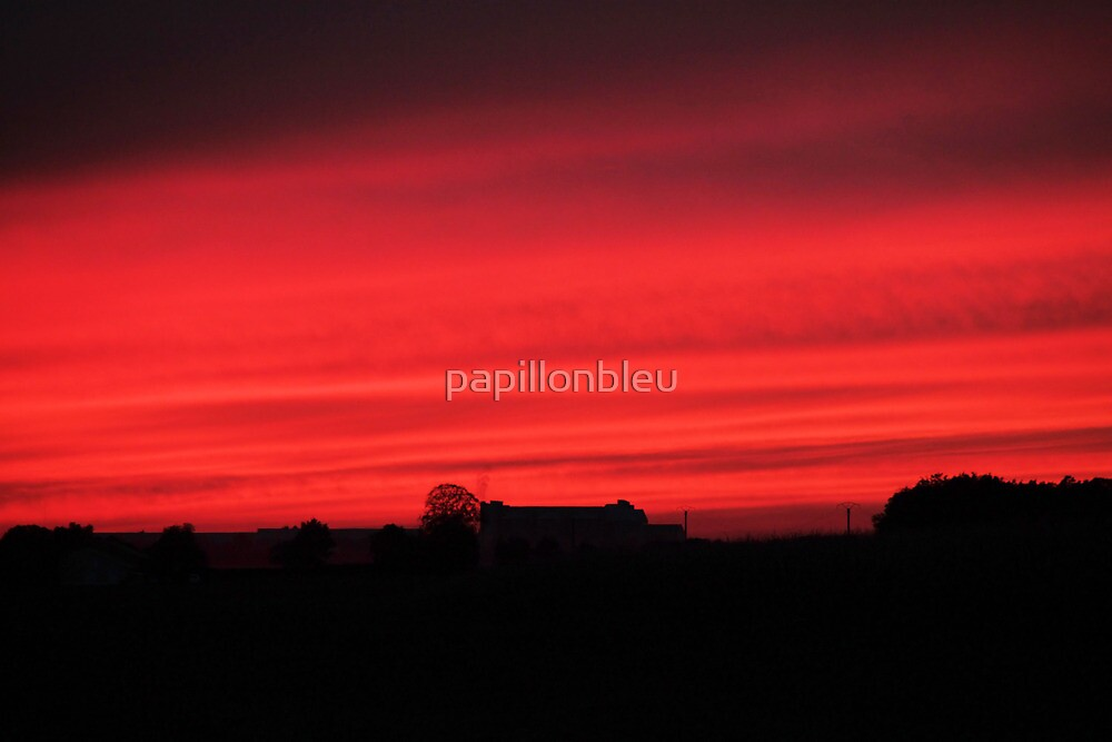 Red Sky at Night by Pamela Jayne Smith