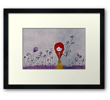 i'm offering you my language Framed Print