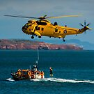 Rescue Practice at Dawlish Airshow by SWEEPER