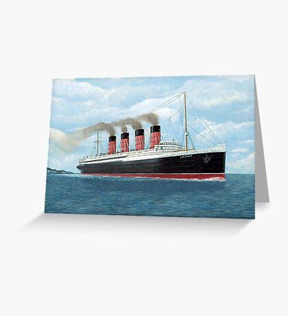 Lusitania Greeting Card