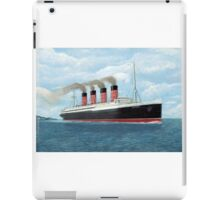 Lusitania iPad Case/Skin