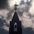 A church silhouette  by MIchelle Thompson
