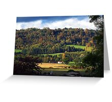 Meon Valley View Greeting Card