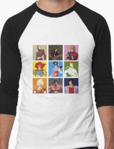 80's heroes Men's Baseball ¾ T-Shirt