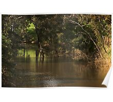 Deep Creek, Bulla, Country Victoria  Poster