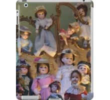 creepy dolls iPad Case/Skin