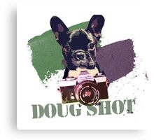 Doggy Shot Canvas Print
