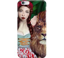 Wizard of Oz- Strength Tarot Card iPhone Case/Skin
