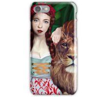 Wizard of Oz- Strength Tarot Card iPhone Case/Skin