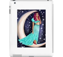 the moon tarot card  iPad Case/Skin
