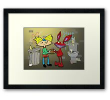 Aaahh!!! Real Arnold! Framed Print