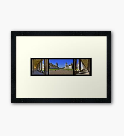 A Tryp To Greenwich - England Framed Print
