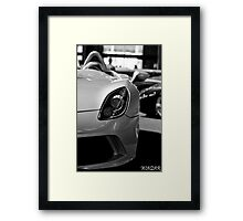 Mercedes-McLaren SLR Stirling Moss Framed Print