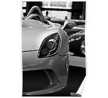 Mercedes-McLaren SLR Stirling Moss Poster