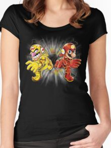 Super Flashy Rivals Women's Fitted Scoop T-Shirt